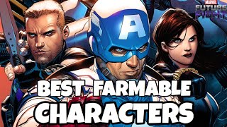 BEST FARMABLE CHARACTERS - JUNE 2018   Marvel Future Fight