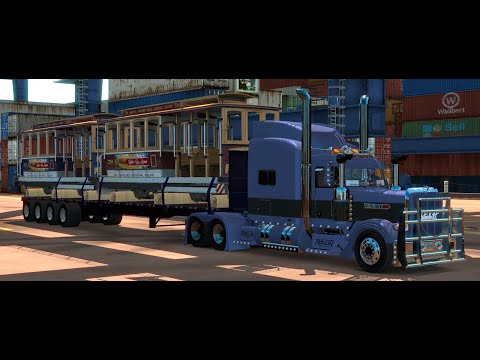 ATS#19 Transporting San Francisco Cable Cars from Oakland to Yuma