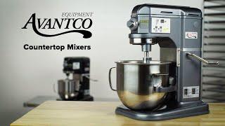Avantco Countertop Mixers