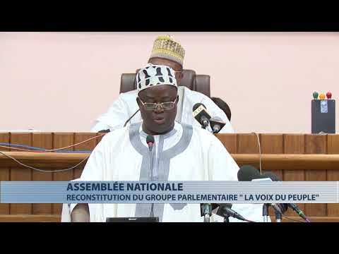 """Assemblée nationale : reconstitution du groupe parlementaire """"La voix du peuple"""""""