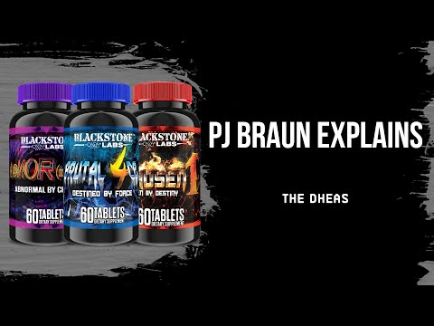 Blackstone Labs Presents: PJ Braun Explains The DHEAs