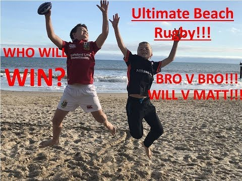 World's Best TRY!!!| Ultimate Beach Rugby