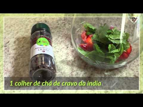 Receita Ponto Natural | Água saborizada - Morango, hortelã e cravo da ...