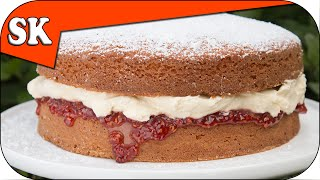 Victoria Sandwich - Simple Cake Recipe