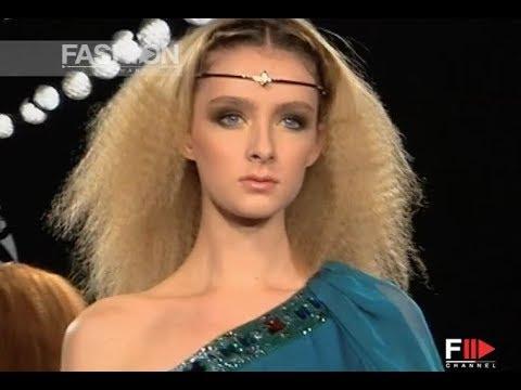 FAUSTO SARLI Haute Couture Spring Summer 2008 Rome – Fashion Channel