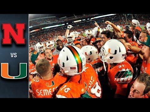 Miami vs. Nebraska | 2015 ACC Football Highlights
