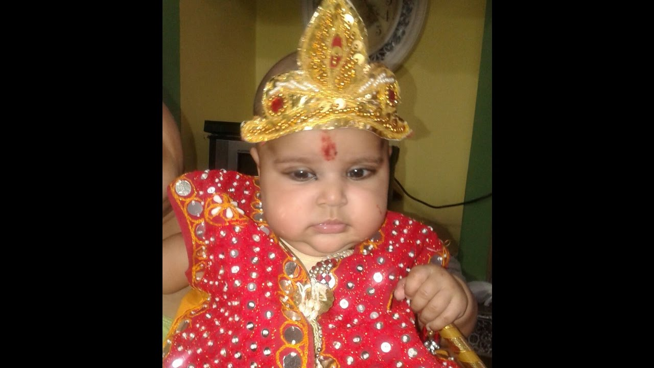 Cute Little Krishna