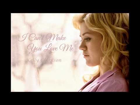 Kelly Clarkson – I Can't Make You Love Me (Lyric Video)