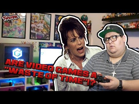 IS PLAYING VIDEO GAMES REALLY A WASTE OF TIME!?