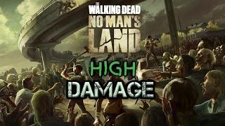 APK MOD WALKING DEAD NO MAN'S LAND HIGH DAMAGE