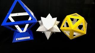 小星型12面体を組み立る