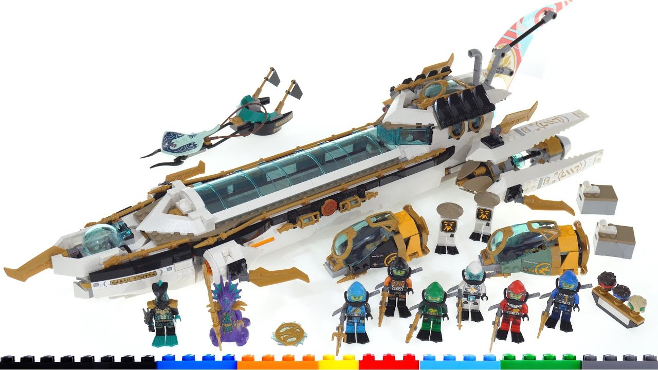 LEGO Ninjago Hydro Bounty 71756 review! Feature-packed, good design, high-ish price