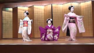 "maiko dance  ""gion kouta"" , KYOTO 京舞「祇園小唄」"