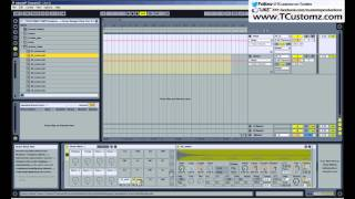 Ableton Live Tutorial - How to Record Your Drum Samples in Separate MIDI Tracks, Drum Racks