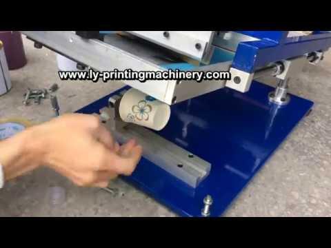manual screen printer for paper cup manual silk screen printing machine for cup