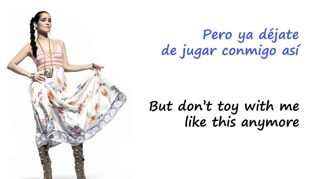 """Nada Serio"" Julieta Venegas (letra en español & English lyrics)"