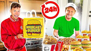Letting 2HYPE Decide What We Eat for 24 Hours!