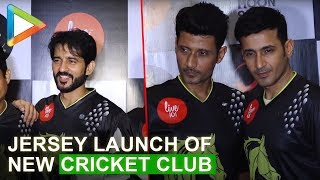 UNCUT: Meet Bros, Hiten Tejwani & others @Jersey launch of New cricket club 'Dark Horses'
