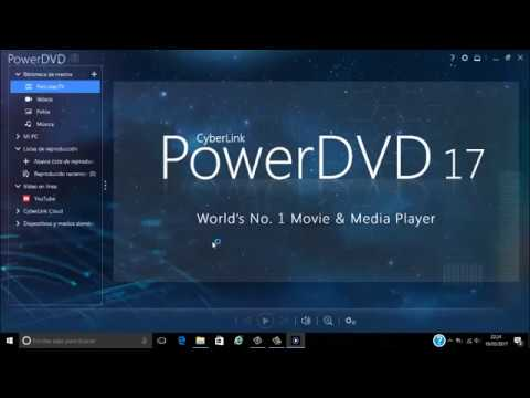 Descargar e Instalar Cyberlink PowerDVD 17 ultra VL Full MEGA