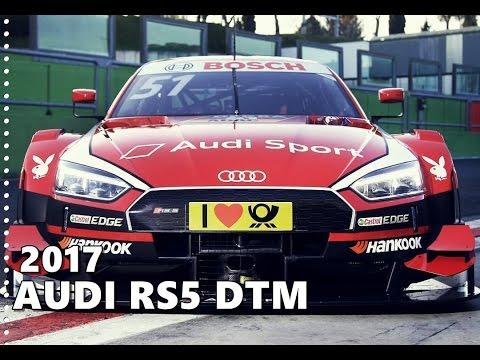 2017 Audi RS5 DTM in Practice