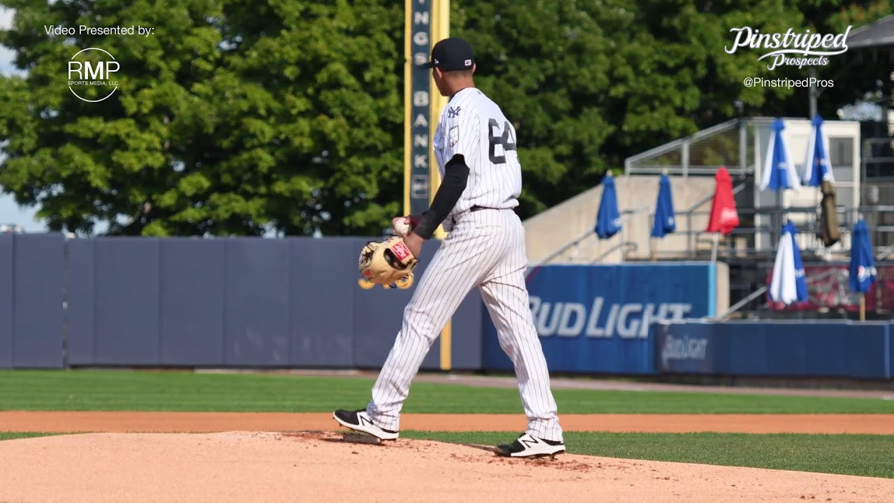 55f665cf1 Jonathan Loaisiga - Yankees Pitching Prospect - YouTube