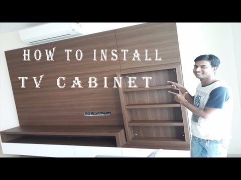 TV Cabinet Designs For Living Room 2018 By Smart Cabinets Installation.