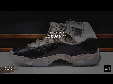 SNEAKER CARE 101: HOW-TO CLEAN JORDAN XI CONCORDS