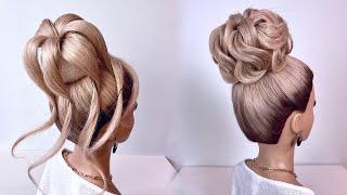 Свадебная прическа Прическа на длинные волосы Пучок
