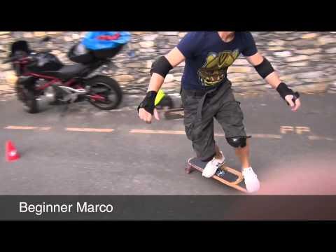 Skateboard instructor Gianluca
