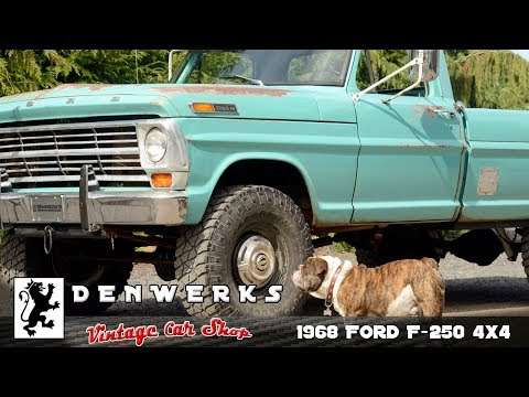 No Reserve: 1968 Ford F-250 4x4 4-Speed