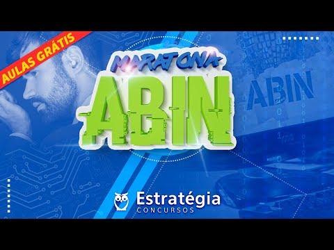 Maratona Concurso ABIN: + 9h de Aulas Gratuitas