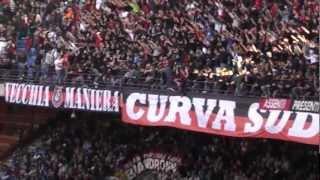 Milan Genoa 1-0 Curva Sud Milano