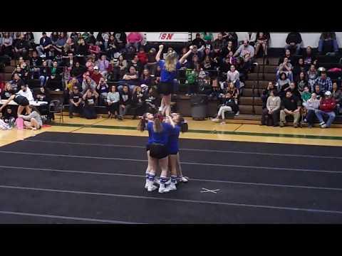 Putnam Middle School Varsity Cheerleaders