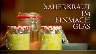 Einfach Sauerkraut selbermachen Roh und Vegan