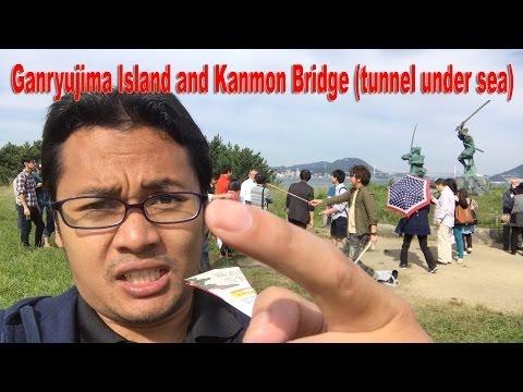Ganryujima Island and Kanmon Bridge Submarine Tunnel NazrVlog44