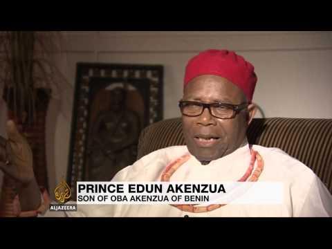 Nigeria wants return of looted treasure