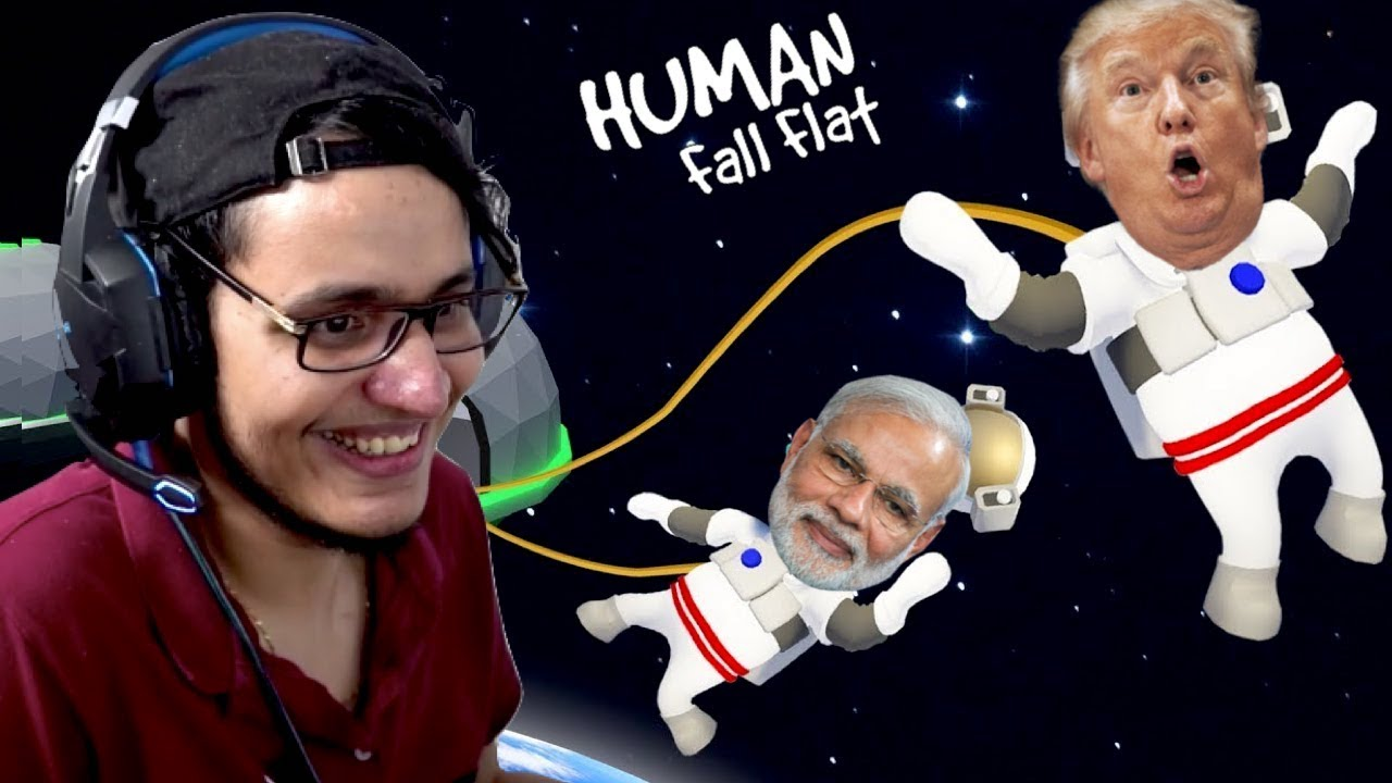 Funniest SPACE Level in Human Fall Flat