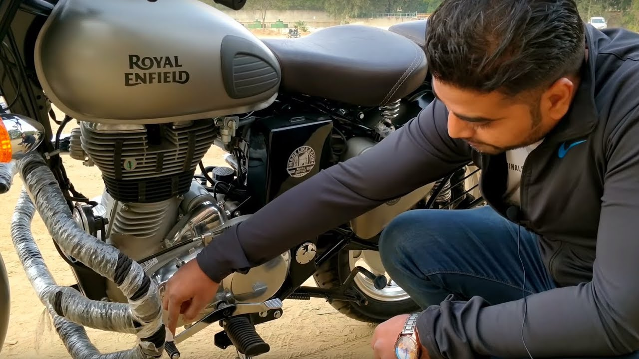 Car Detailer The Vines >> Royal Enfield - Tips and Tricks - Modified bullet - Classic 350 - Gunmetal Grey - King Indian ...
