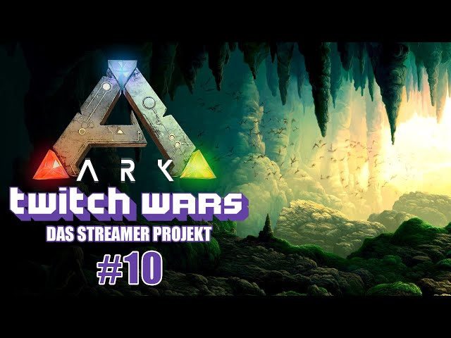 Lower South Cave 🦖 ARK Twitch Wars #10 [Lets Play Deutsch]