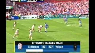 Saints 75 - 0 Wigan (2005)