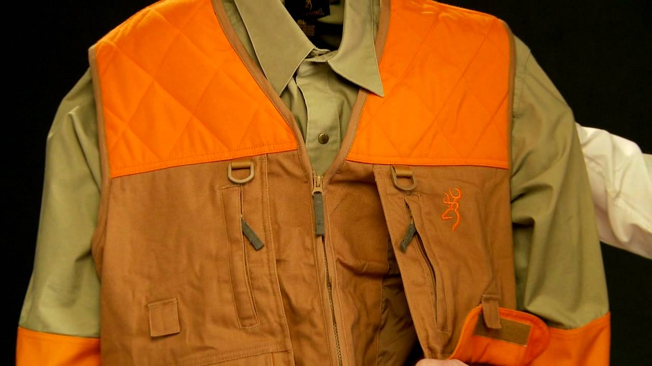 c17d69a4d68ad Pheasants Forever Vest -- A Review by the Product Manager - YouTube
