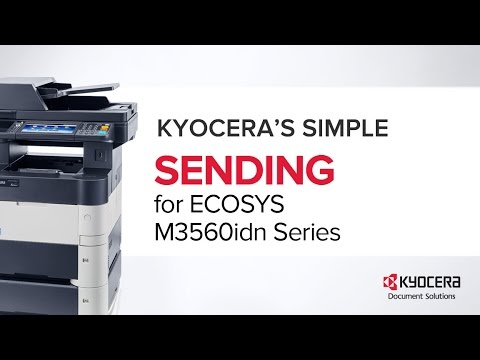 PRINTER How-To: Sending Tips for the ECOSYS M3560idn Series