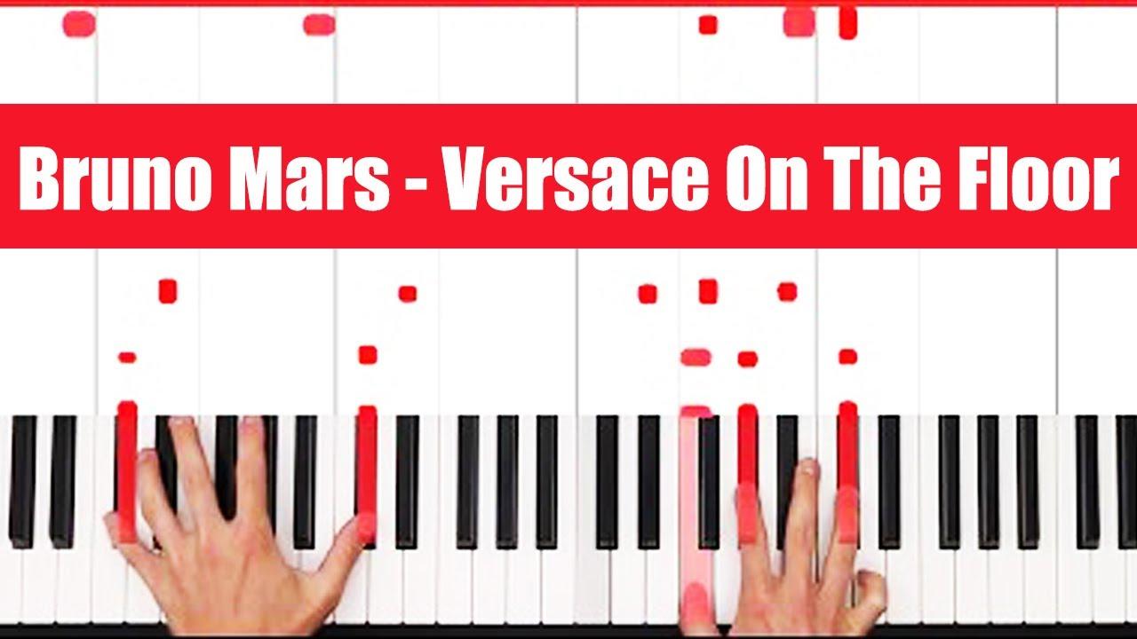 Bruno Mars Piano Tutorial - EASY