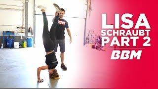 Lisa kann nicht nur einen Kopfstand | Audi A3 Tieferlegung mit ST Suspension Fahrwerk Part 2 by BBM