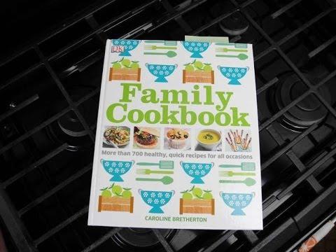 Family Cookbook By Caroline Bretherton  - Cookbook Review.