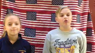 Morning Announcements Monday November 12, 2018