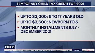 IRS offering advanced child tax credits payments for 2021