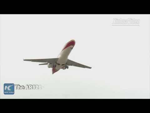 Flying in more areas! China's homegrown ARJ21-700 jet enters service in north China