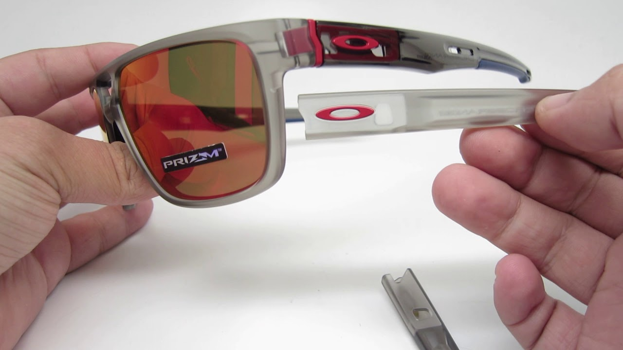 oakley crossrange shield prizm ruby