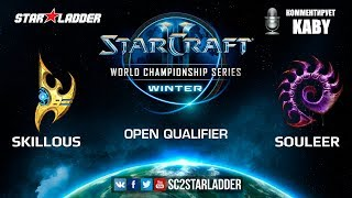2019 WCS Winter Open Qualifier 2 Match 6: SKillous (P) vs SouLeer (Z)